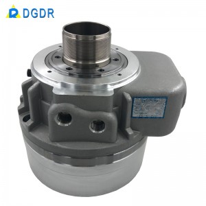 por meio de cilindro de óleo buraco para 3 mandíbulas mandril hidráulico DGO-08