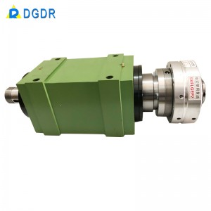 principal axis for cnc Precision pneumatic chuck spindle integrated laser pipe cutting machine welding automation chuck