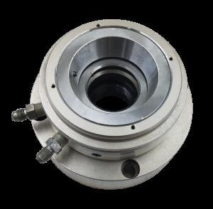 quatro ou cinco eixos eixo do mandril automático, cilindro hidráulico rotativo, de aperto estilo Hainbuch dirige CHP206-SS42