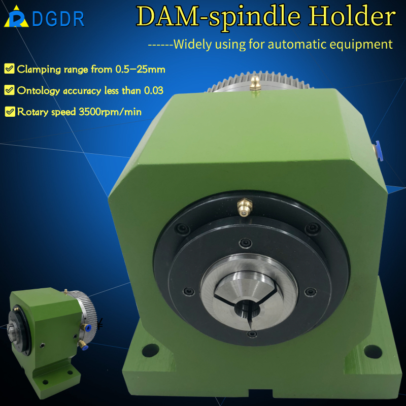 DAM-15 pneumatic high precision spnidle holder for automatic equipments Featured Image