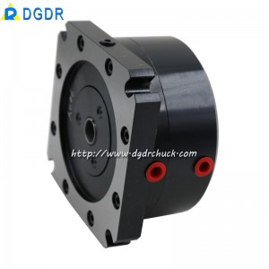 Stationary mini air collet chuck DAS-15 for tapping machine drilling machine automatic equipment fixed pneumatic chuck