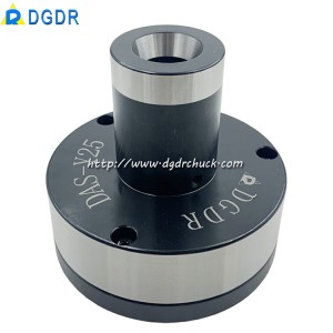 High precision stationary chuck DAS-Y20 back-pulled air collet chuck for tapping machine drilling machine automatic equipment fixed pneumatic chuck