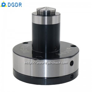 CNC processing center air collet chuck DAS-Y20 high precision stationary chuck with back-pulled pneumatic collet chuck for tapping machine drilling machine