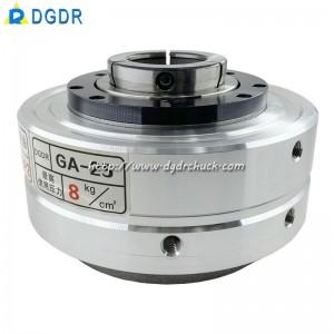 Taiwan pneumatic chuck GA-25/GA-40 laser cutting welding pneumatic chuck hollow automatic air pressure rotary chuck
