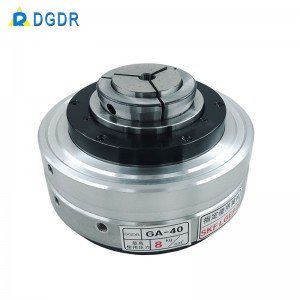 automatic chuck for laser cutting tube machine GA-40 rotary power chuck for cnc lathe vice clam chuck