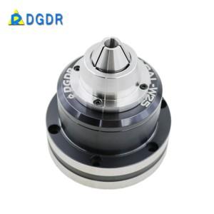 PERSONALIZADO Taiwan corte de precisão rebolo mandril pneumático, GAL-W25 laser de máquina de corte de tubos mandril rotativo pneumático