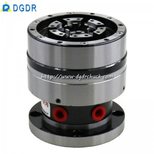 GD-10 high precision mini pneumatic diaphragm chuck for grinding machine through hole clamping tools