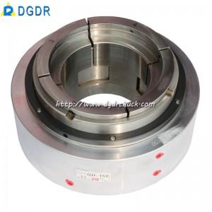 high speed pneumatic chuck GH – 150 CNC automatic punching machine oil pressure chuck long hole hollow hydraulic chuck