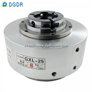 Rotary Indexing Table with high precision air Chuck GXL-25 for laser cutting machine welding equipment