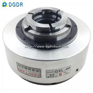 taiwan manipulator pneumatic chuck GXL-40 robot grinding spray pneumatic chuck lathe rotation chuck