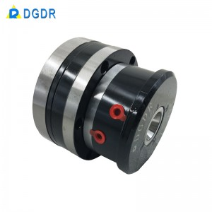 cnc mini chuck with high speed rotary cylinder inside easy installation chuck for grinder machine DGDR JAC-15